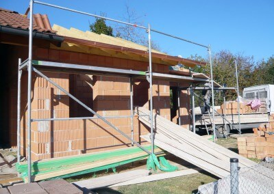 Anbau Tennisheim