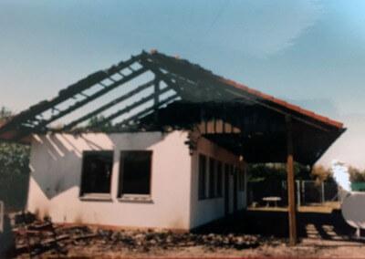 Blitzschlag Tennisheim 2