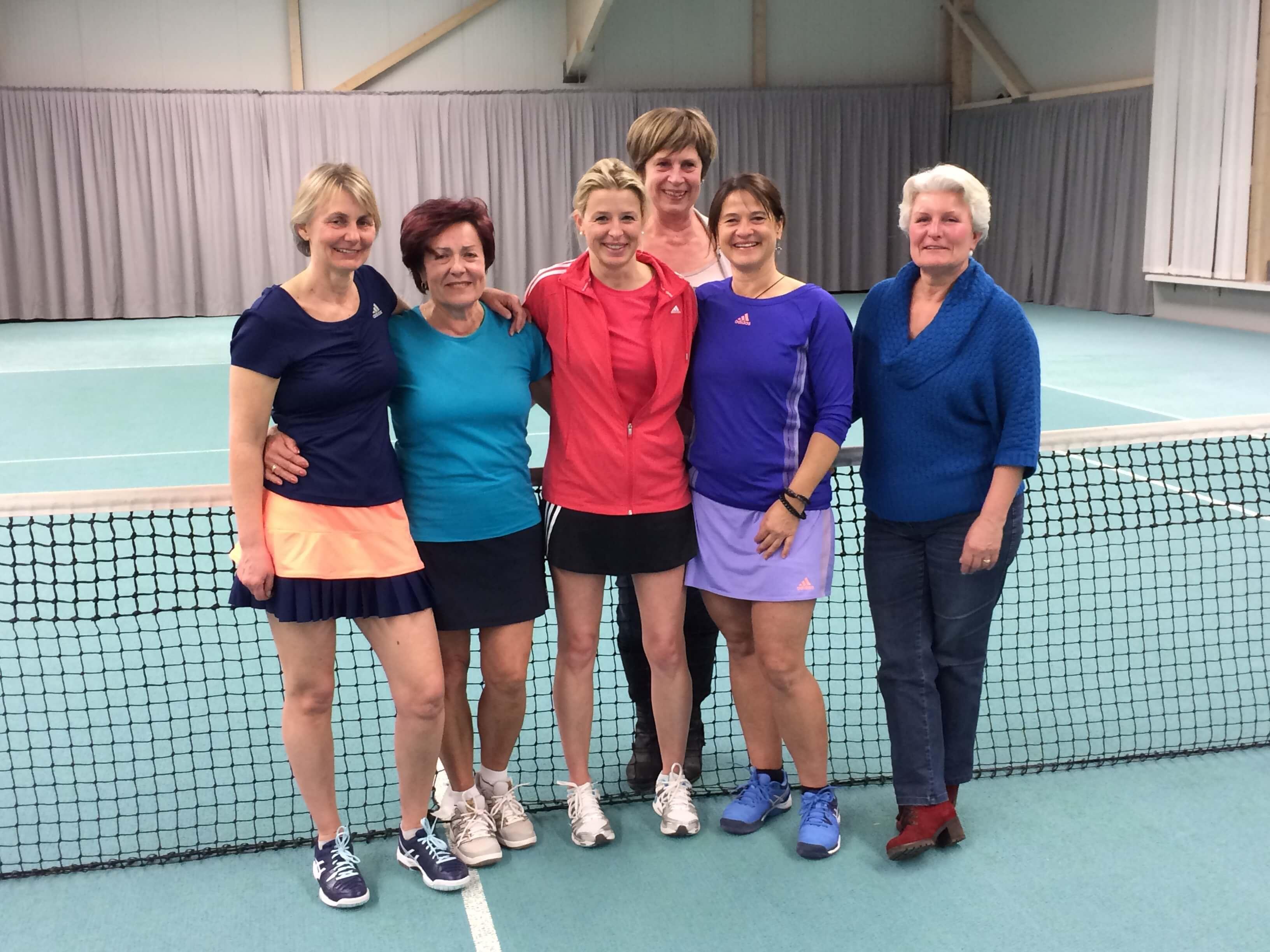 Erstes Turnier der Damen 40 in der Landesliga - eine klare Niederlage