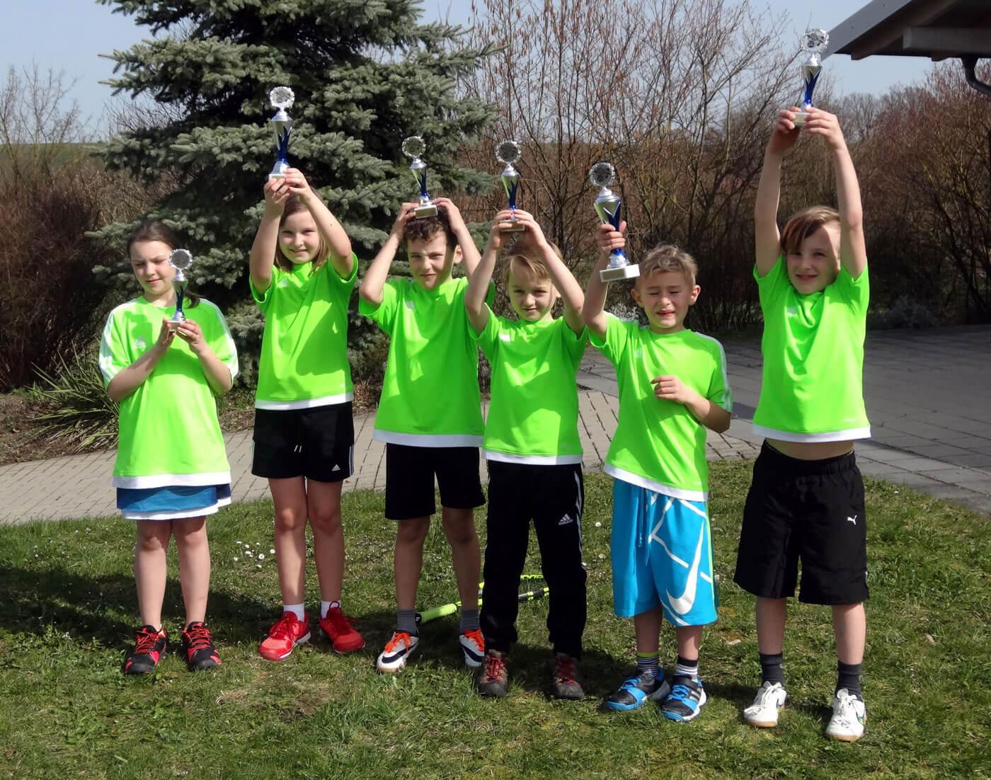 Die Midcourt 2 Mannschaft startete erfolgreich in die Hallensaison