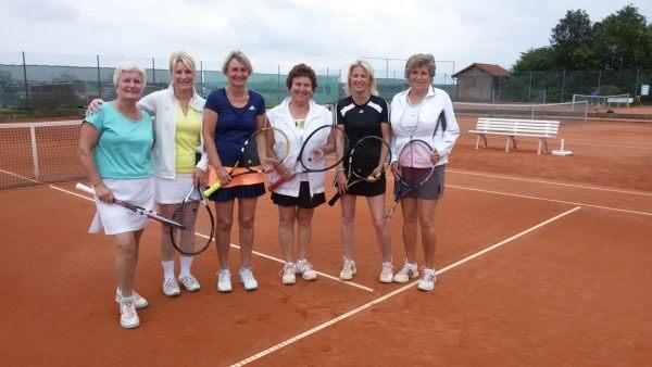 Auftakt-Turnier in die Winterrunde - Damen 40 / Gruppe II am letzten Samstag