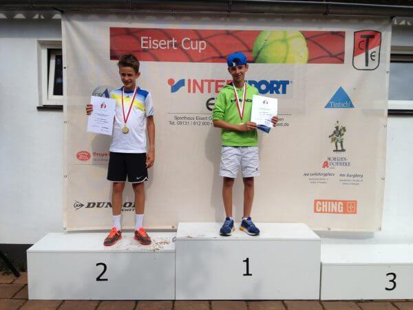 Tolle Erfolge beim Deutschen Ranglistenturnier Eisert Cup beim TC RW Erlangen
