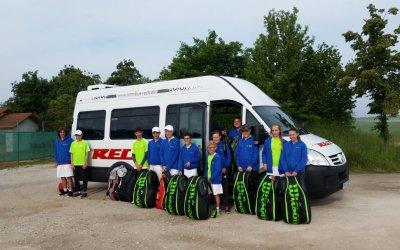"""Der """"Einzelsport"""" Tennis als Teamprojekt"""