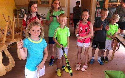 Tennis mal ganz anders- Schleifchenturnier der Kinder am 21.06.19