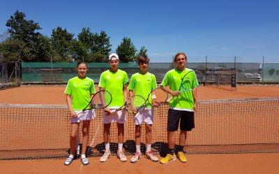 Rundum gelungener Tennistag :-)