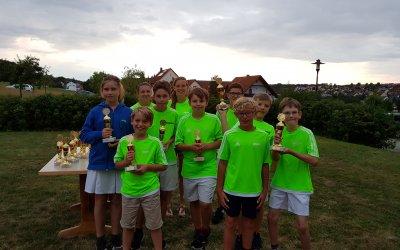 TSV Rohr dominiert den mittelfränkischen U12-Nachwuchs