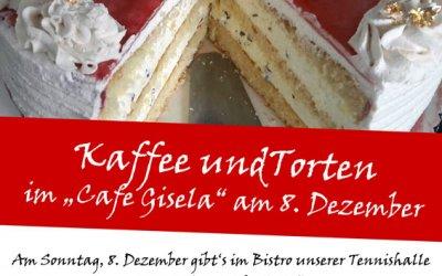 Cafe Gisela am 8. Dezember