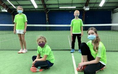Bambini II trifft auf den TB Erlangen