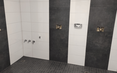 Instandhaltung der Duschen