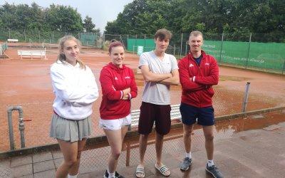Mixed-Mannschaft beim TSV Rohr ;)